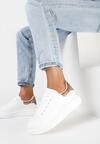 Biało-Złote Sneakersy Neamesa