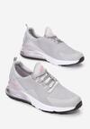 Szaro-Różowe Buty Sportowe Azalla