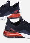 Niebiesko-Czerwone Buty Sportowe Azalla