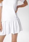 Biała Sukienka Adoriko