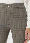 Beżowe Spodnie Adrealyn