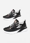 Czarne Sneakersy Klenoire
