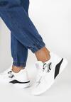 Białe Sneakersy Klenoire