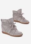 Szare Sneakersy Assala