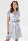 Niebieska Sukienka Laina