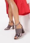 Ciemnozłote Sandały Clynilla