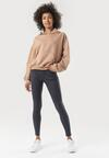 Granatowe Spodnie Skinny Ilareino