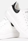 Biało-Czarne Sneakersy Corarea