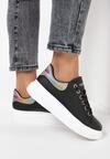 Czarne Sneakersy Corarea