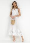 Biała Sukienka Dorierah