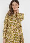 Żółta Sukienka Olerodia