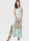 Jasnozielona Sukienka Astedoe