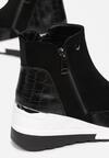 Czarne Sneakersy Meridelin