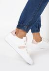 Biało-Różowe Buty Sportowe Thonisise