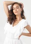Biała Sukienka Aethelure