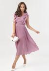 Fioletowa Sukienka Aethelure