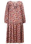 Biało-Różowa Sukienka Coranisse