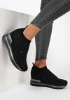 Czarne Sneakersy Aquashi