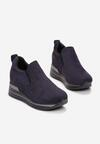 Granatowe Sneakersy Evipeia