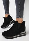 Czarne Sneakersy Ilenolla