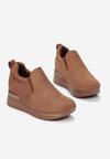 Camelowe Sneakersy Evipeia