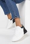 Biało-Czarne Sneakersy Idathise