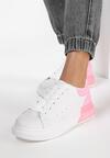 Biało-Różowe Sneakersy Idathise