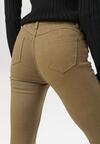Beżowe Spodnie Skinny Hireia