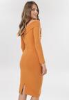 Camelowa Sukienka Aninise