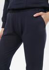 Granatowe Spodnie Dresowe Felyera