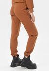 Camelowe Spodnie Dresowe Felyera