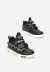 Czarno-Zielone Buty Sportowe Drenryna