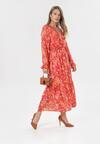 Czerwona Sukienka Danape