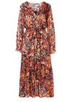 Czarno-Beżowa Sukienka Danape