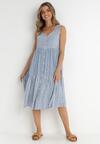 Niebieska Sukienka Hyrysh