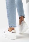 Biało-Beżowe Buty Sportowe Irinlyn