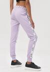 Liliowe Spodnie Dresowe Cerifera