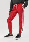 Czerwone Spodnie Dresowe Cerifera