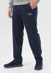 Granatowe Spodnie Dresowe Dreness