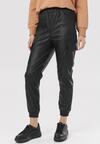 Czarne Spodnie Joggery Zelllith