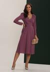 Fioletowa Sukienka Lilnara