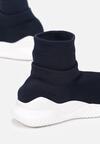 Granatowe Sneakersy Elrinnara