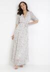 Biała Sukienka Riserris