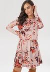 Różowa Sukienka Cheena