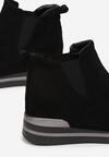 Czarne Sneakersy Chlora