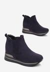 Granatowe Sneakersy Chlora