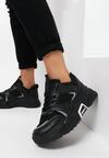 Czarne Sneakersy Fragaria