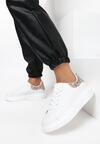 Biało-Szampańskie Sneakersy Yashira