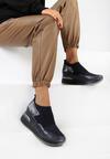 Granatowe Sneakersy Mapeloris