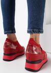 Czerwone Sneakersy Mapeloris